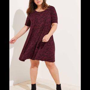 Loft Flora dress